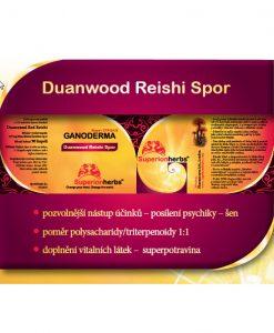 Duanwood Red Reishi, Ganoderma Spor, 100% spórový prášek