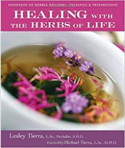 Kniha Healing with the herbs of life