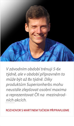 Martin Tuček o Superionherbs