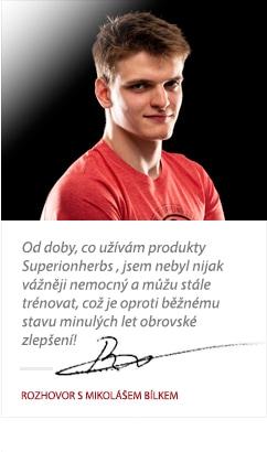 Mikoláš Bílek o Superionherbs