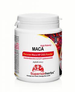 doplněk stravy Maca High Potency od Superionherbs