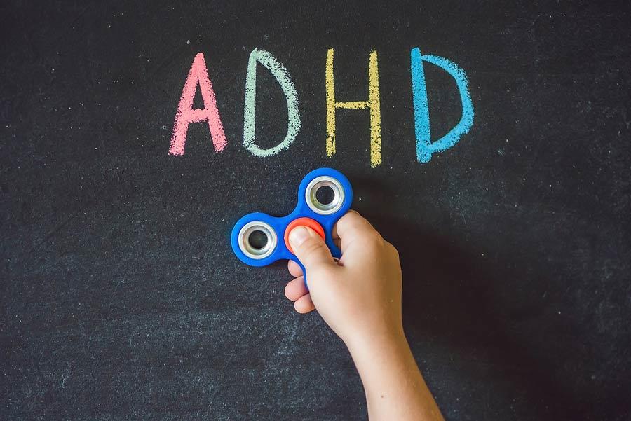 Spinner pomáhá s ADHD