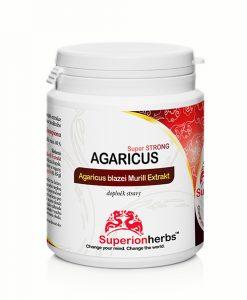 Agaricus Super Strong - extrakt houby Agaricus blazei Murill doplněk stravy od superionherbs