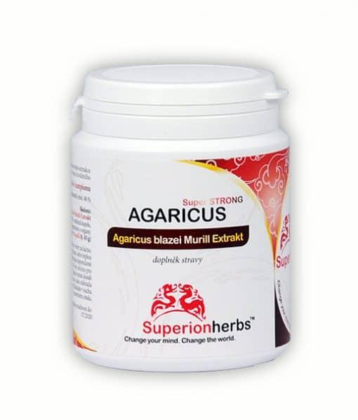 Agaricus Super Strong - extrakt houby Agaricus blazei Murill