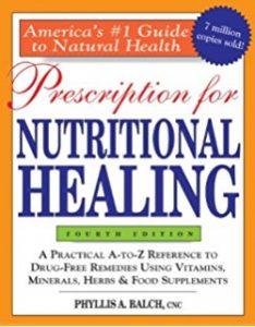 kniha Prescription for nutritional healing