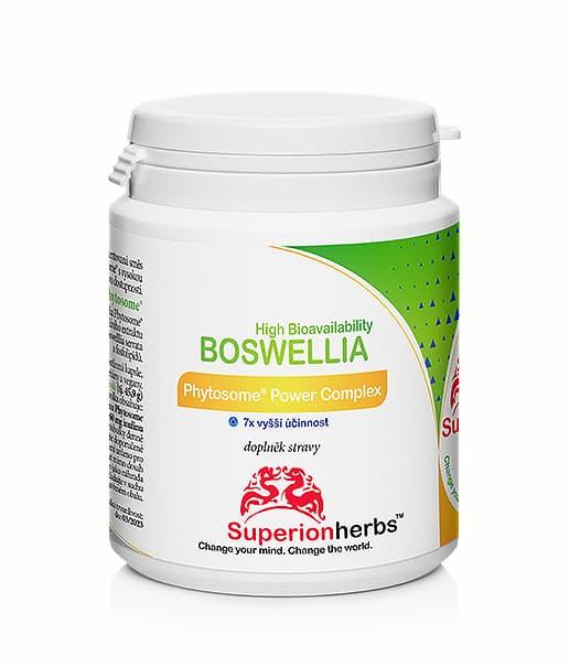 balení doplňku stravy Boswellia od Superionherbs