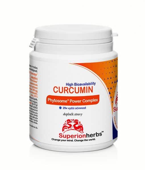balení Curcuminu Phytosome® Power Complexod Superionherbs