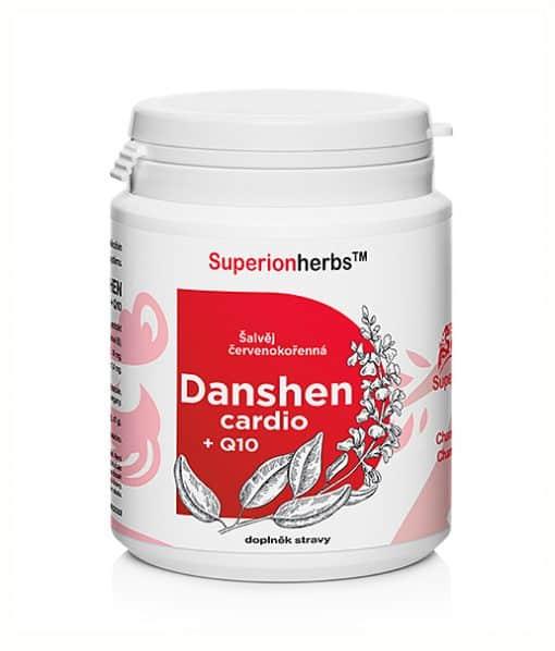 Balení 90 kapslí doplňku stravy pro normální funkci srdce - Danshen Q10 cardio