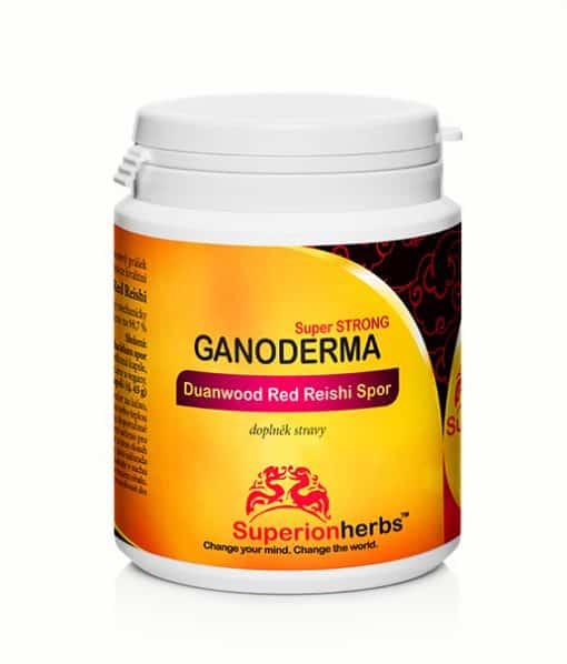 balení Reishi Ganoderma Spor, 100% spórový prášek, nejcennější část Ganodermy
