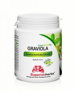 doplněk stravy Graviola Superstrong od Superionherbs