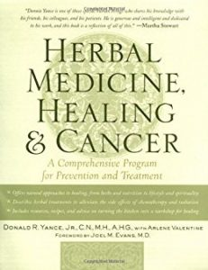 kniha herbal medicine, healing and cancer