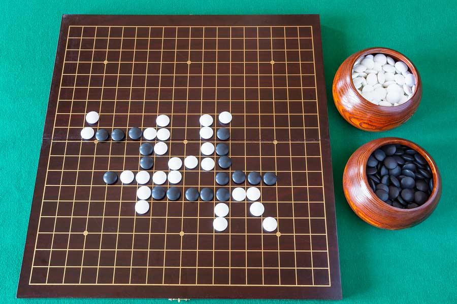 Japonská desková hra GO