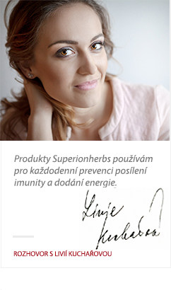 Lívie Kuchařová o Superionherbs