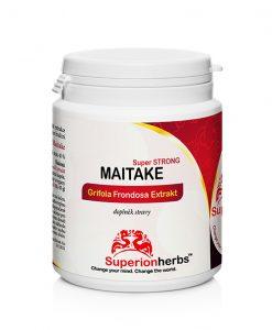 Maitake Super Strong Grifola Frondosa Extrakt doplněk stravy od Superionherbs extrakt z Trsnatce lupenitého
