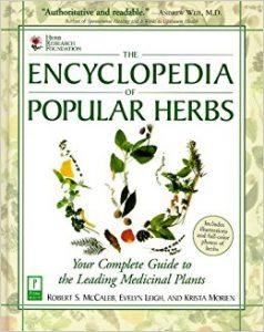 Kniha Encyclopedia of popular herbs