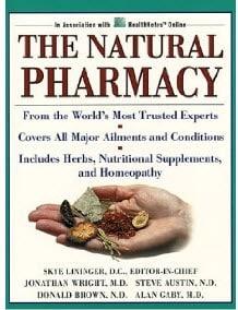 kniha the natural pharmacy