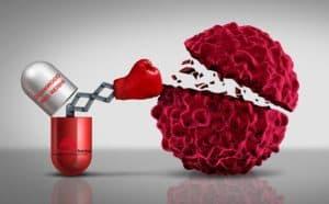 duanwood red reishi dává pravý hák rakovinné buňce