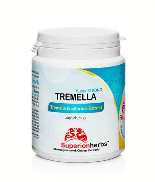 Tremella Super Strong Tremela Fuciformis Extrakt doplněk stravy od Superionherbs extrakt z Rosolovky řasotvaré