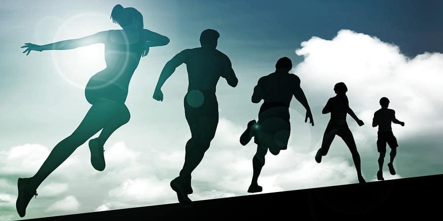 vytrvalost sportovců